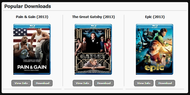 Free celebrity movie downloads