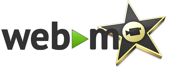 best way to use webm file in imovie