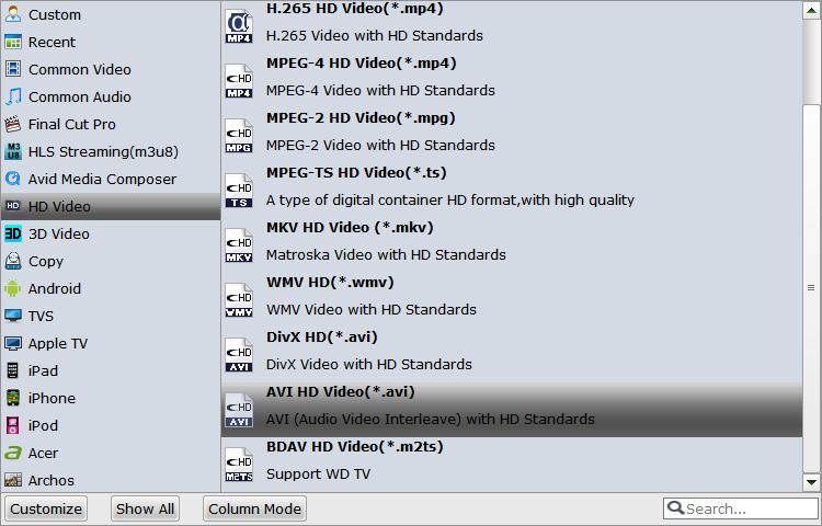 How to Import MOV,MP4,MKV,AVI,WMV,FLV to GoPro Studio for